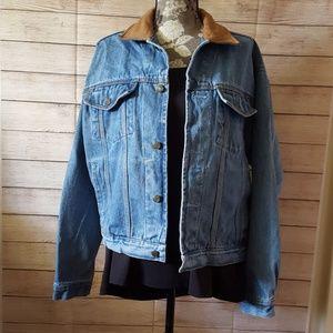 Ashton Cove Men's Denim Jacket, Size M